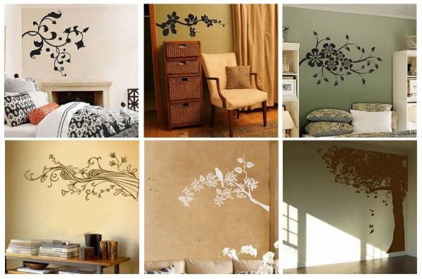 Imprimeuri florare - stickere Sursa foto: www.interiornity.com