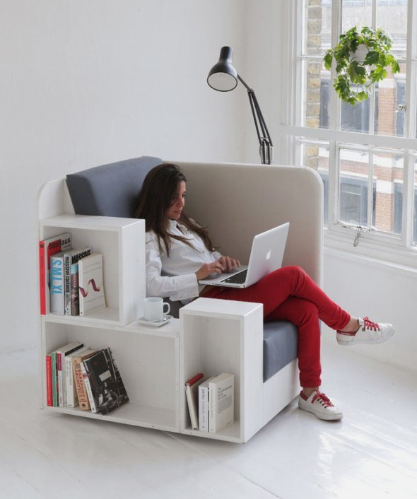 Integrati cartile in designul interior. Foto: www.marvelbuilding.com