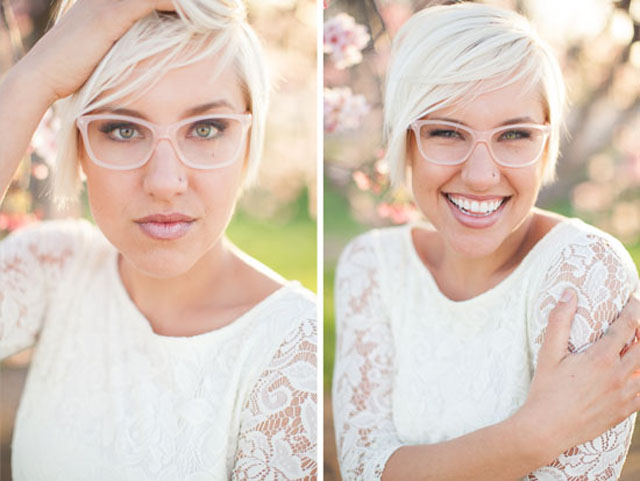 Ochelari sau lentile de contact in ziua nuntii, Foto: nlcafe.hu
