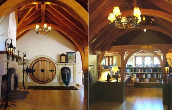 Povestea Stapanul Inelelor a constitui o sursa de inspiratie pentru designerii de interior Foto: www.decorreport.com
