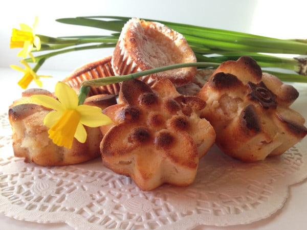 Muffin cu branza dulce de vaca si pulpa caise