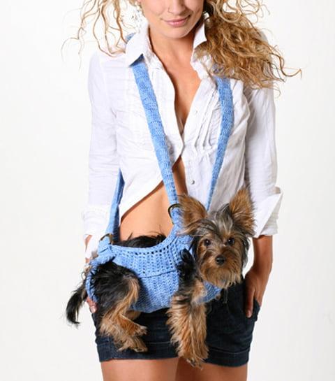 Geanta tricotata pentru caine, Foto: conceptrends.com