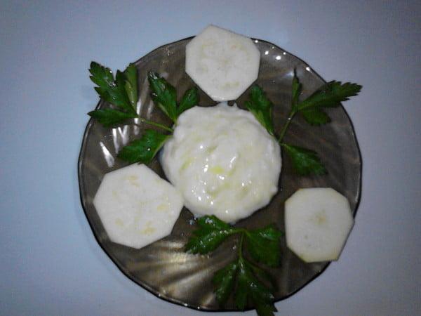 Piure de dovlecel cu iaurt si lamaie