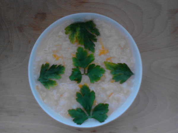 Mancare cu piept de pui, orez si legume la cuptor