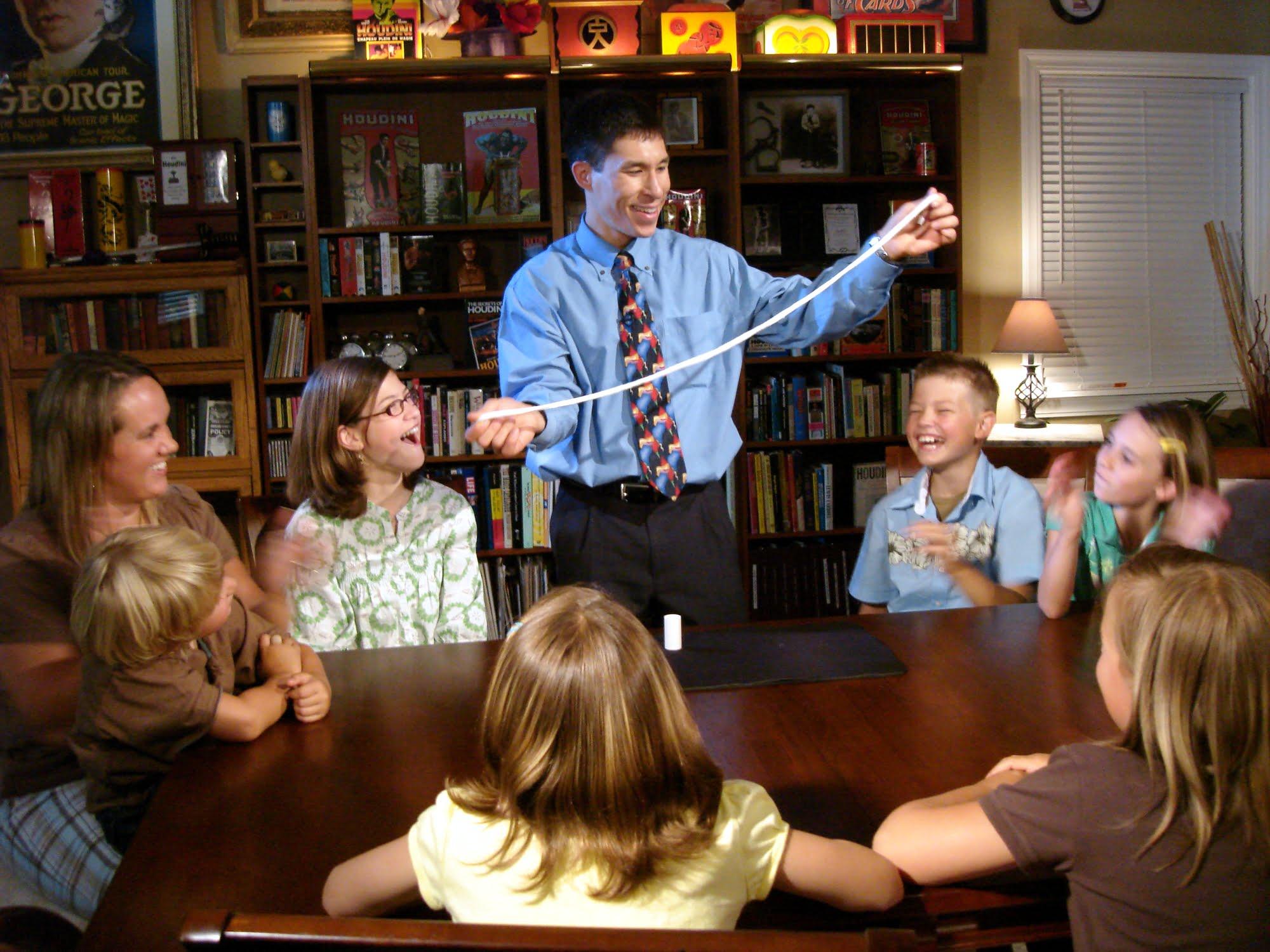 Familie, Foto: sciencemagicvideos.com