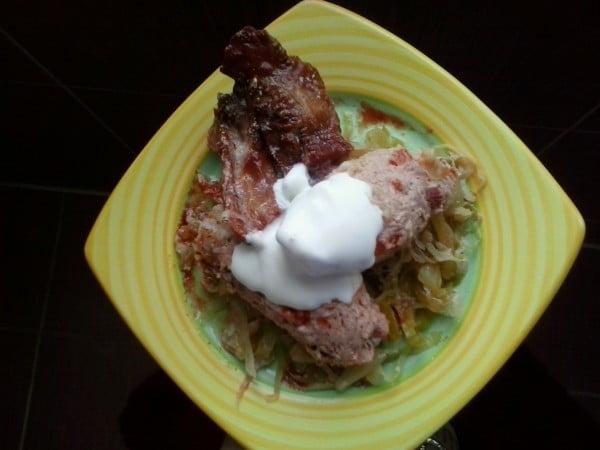 Sarmale intoarse - reteta de carne umpluta cu varza si orez