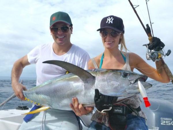 pescuit in cuplu, foto oceanbluefishing.com