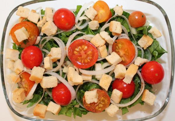 Salata Tabbouleh - mic dejun sau cina sanatoasa