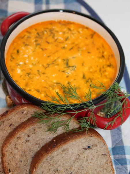 Supa de pastai sau fasole verde, cu smantana