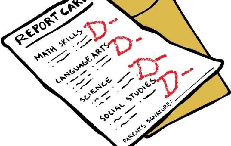 Notele la şcoală