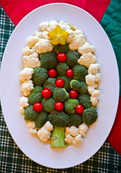 Brăduț din roșii, broccoli și conopidă, Foto: livingsimplyfree.wordpress.com