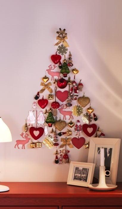 Brad din decorațiuni cu tematică de Crăciun, Foto: ladywholivesdownthelane.files.wordpress.com