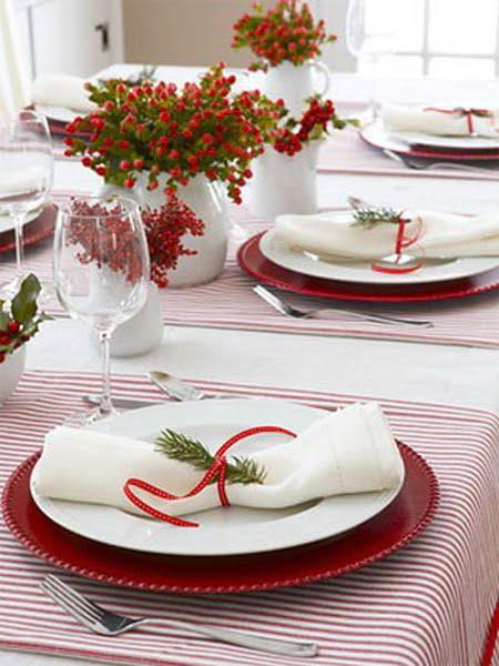Decor pentru masa de Crăciun 1