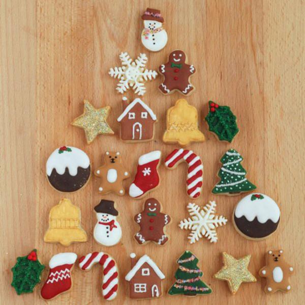 Figurine dulci în spiritul Crăciunului, Foto: richguyshunter.com