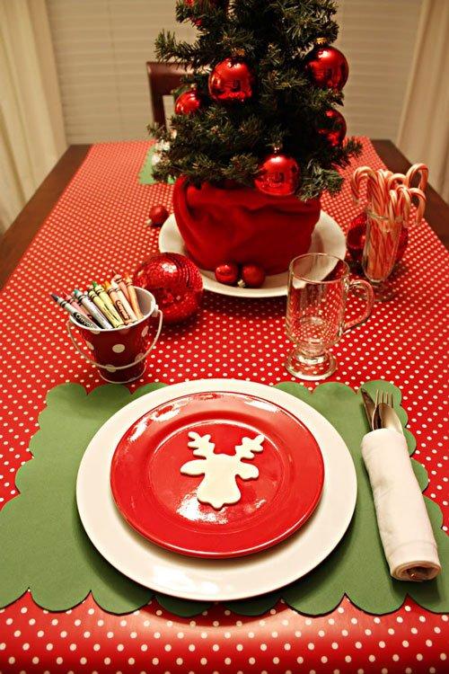Masa de Crăciun pentru copii, Foto: eatwell101.com
