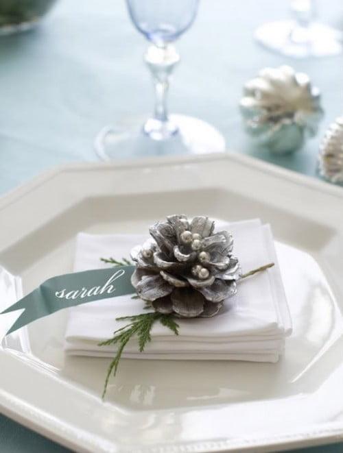 O idee grozavă pentru masa de Sărbători, Foto: weddingomania.com