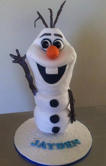 Prăjitură Frozen, Foto: coxiescakes.com.au