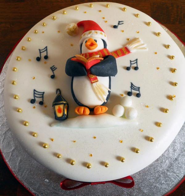 Tort cu pinguin, Foto: webneel.com