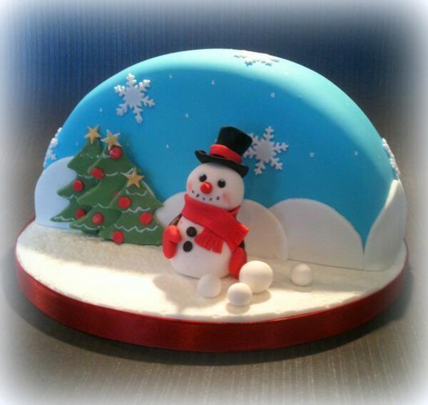 Tort pentru Sărbătorile de iarnă, Foto: blog.bakonw.co.uk