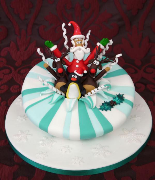 Tort pentru petrecerea de Crăciun, Foto: webneel.com
