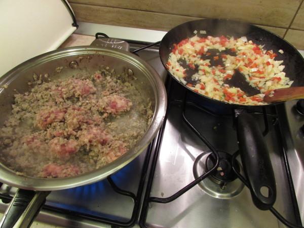 tagliatelli cu sos bolognese