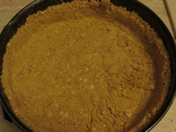 Cheesecake in forma mare