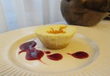 Cheesecake in forma mica
