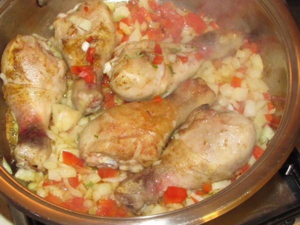 Ciulama de pui cu curry