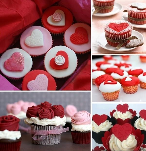 Brioșe de Ziua Îndrăgostiților, Foto: tartasdecoradasycupcakes.com