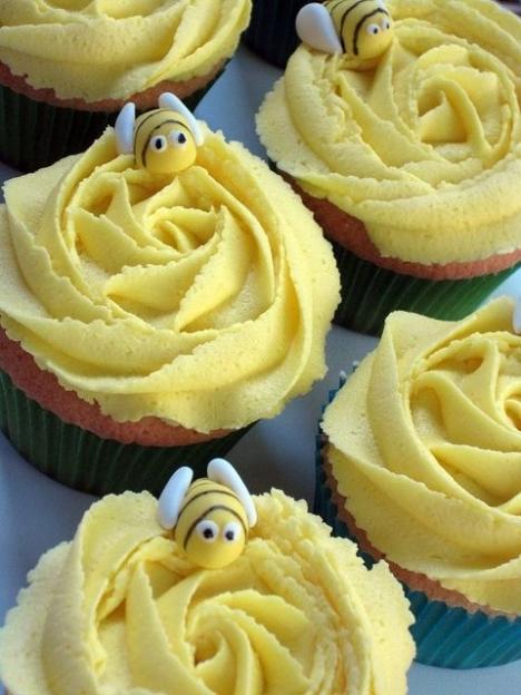 Brioșe cu albinuțe, Foto: whenwomentalks.com