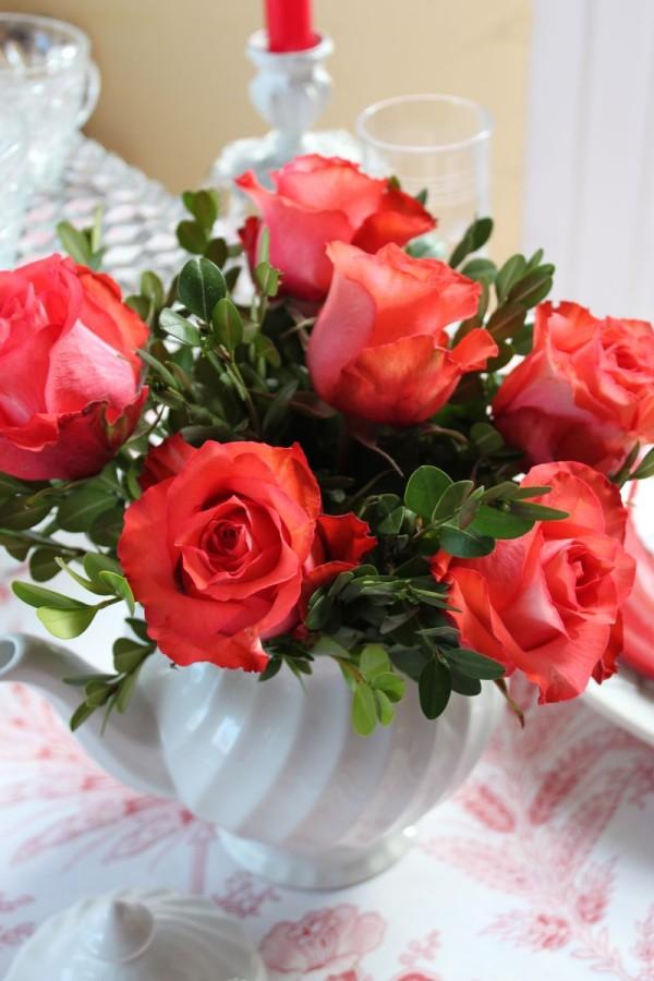 Buchet deosebit de trandafiri, Foto: opulentcottage.typepad.com