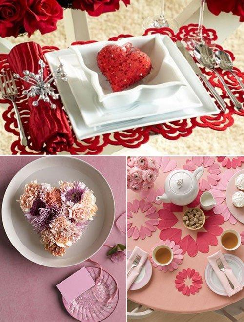 Decor în roșu, alb și roz, Foto: designswan.com
