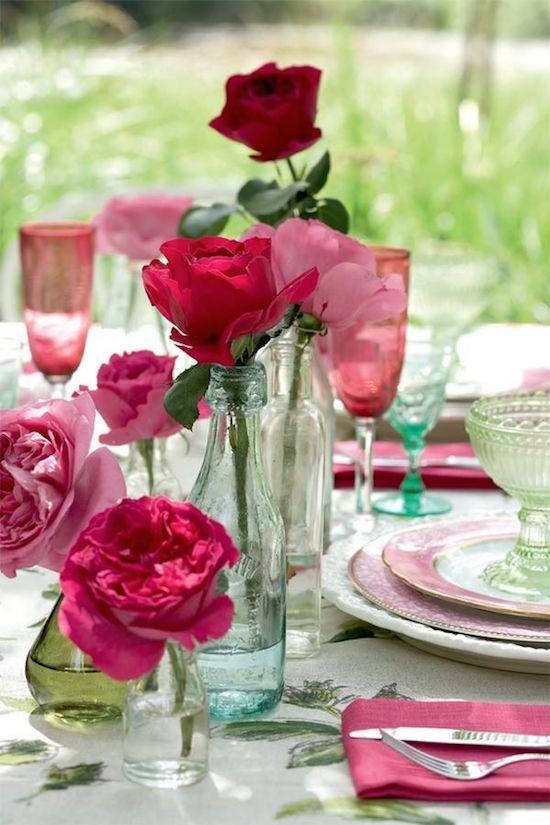 Decor floral simplu și elegant, Foto: omglifestyle.com