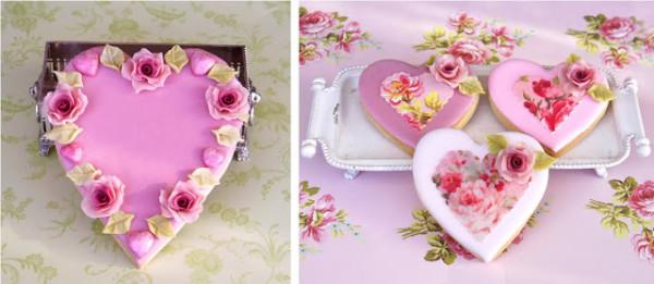 Dulciuri pentru Ziua Îndrăgostiților, Foto: tartasdecoradasycupcakes.com