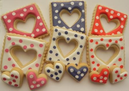 Fursecuri în formă de inimioară pentru Ziua Îndrăgostiților, Foto: cookingwithkaren.wordpress.com