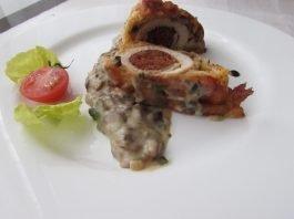 Model de prezentare ciulama de ciuperci