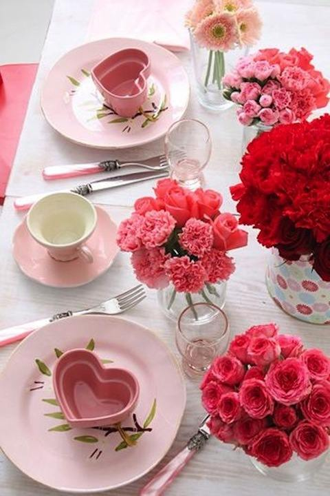 Masa pentru Ziua Îndrăgostiților, Foto: kitchenmag.ru