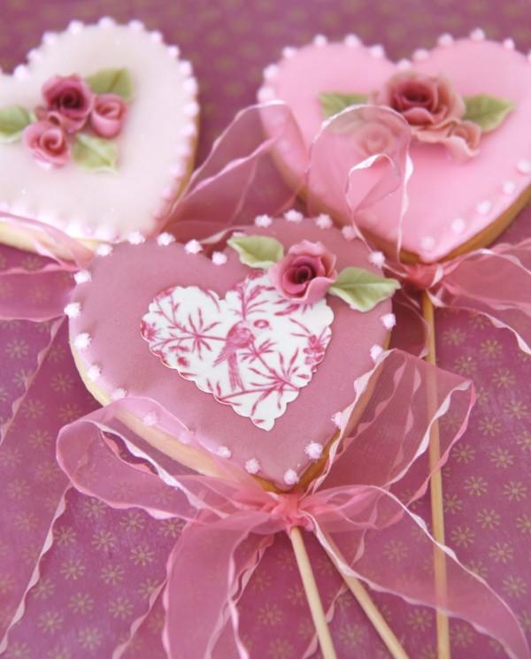Prăjituri în formă de inimioară pentru Ziua Îndrăgostiților, Foto: tartasdecoradasycupcakes.com