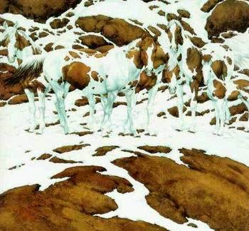 Câți cai sunt în imagine?