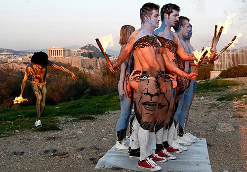 Iluzie optică cu fața lui Obama