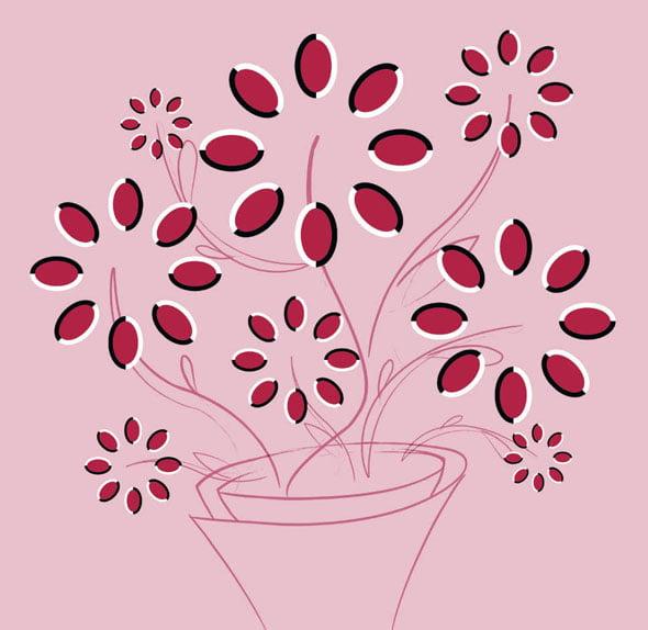 Ghiveciul cu flori
