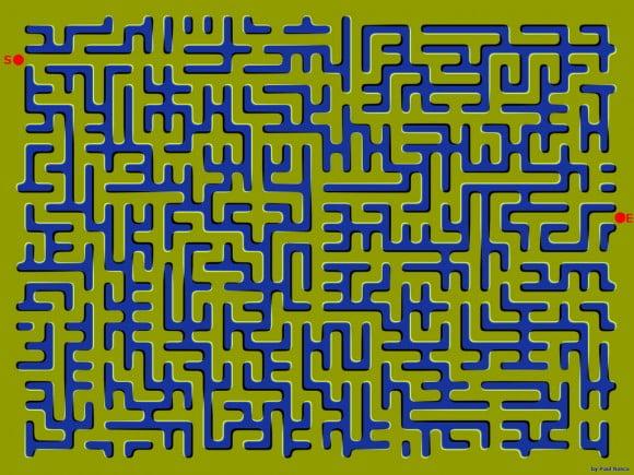 Labirintul care se mișcă
