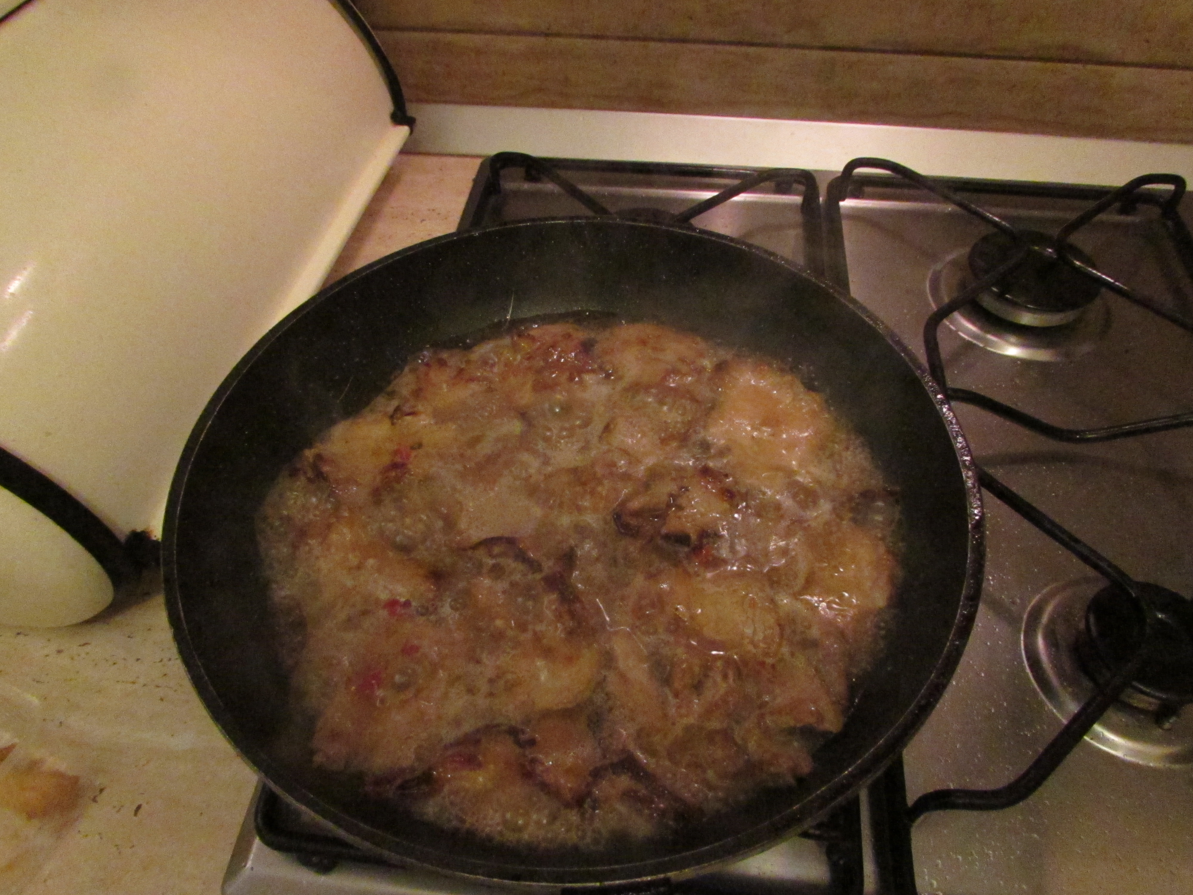 Carnea cu marinata în tigaie