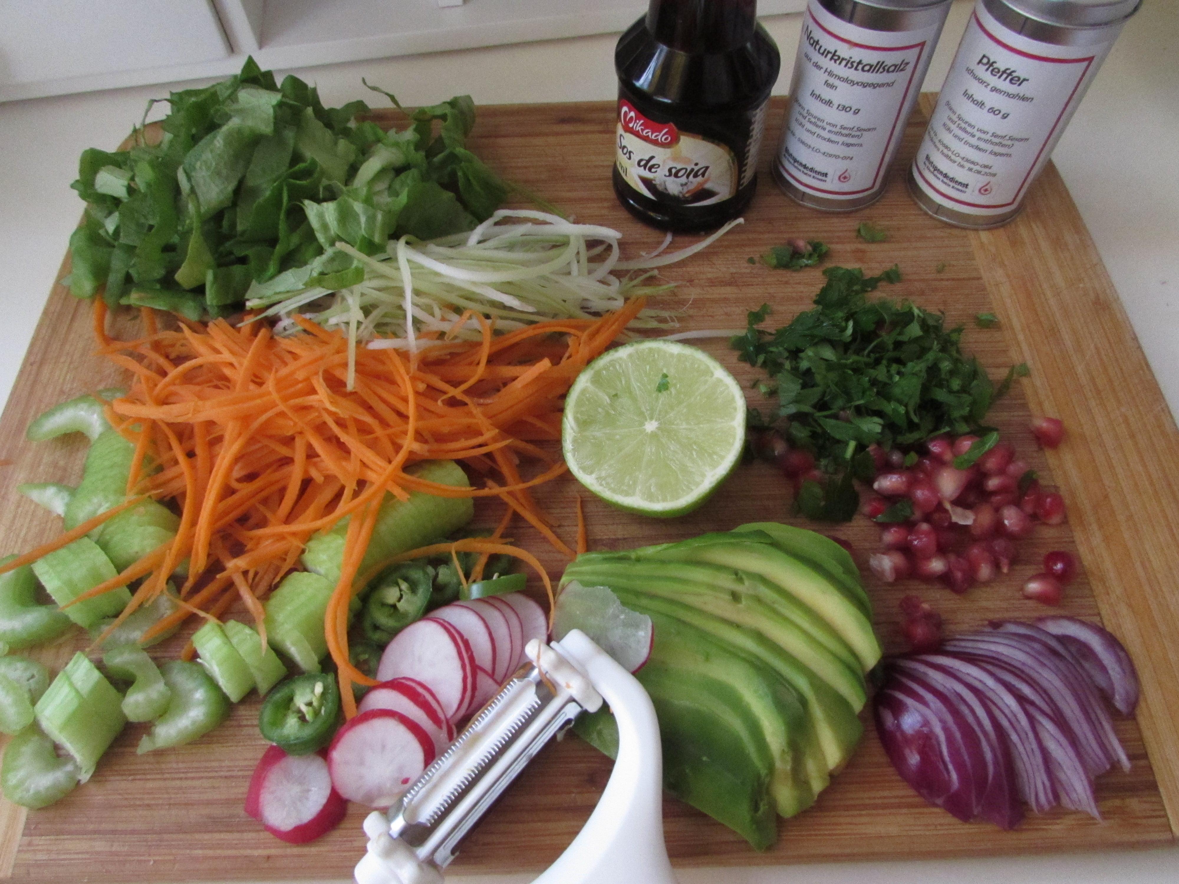 Pregătirea ingredientelor