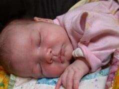 Somnul lui bebe