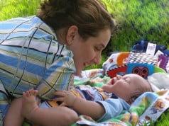Mama în perioada post-partum
