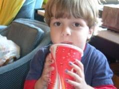 Cafeina la copii