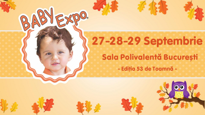 Baby Expor 27-29 Septembrie 2019 Sala Polivalenta - Afis