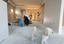 Zugraveala, renovarea apartamentului