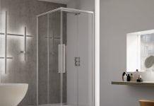 Cabină de duș din sticlă